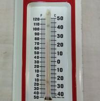 Bennington State Bank Thermometer NOS