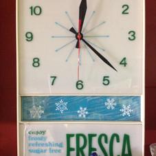 1960's Fresca Clock