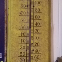 Golden Acres Hybrids Thermometer