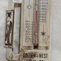 Goldern West Grain Co. Thermometer