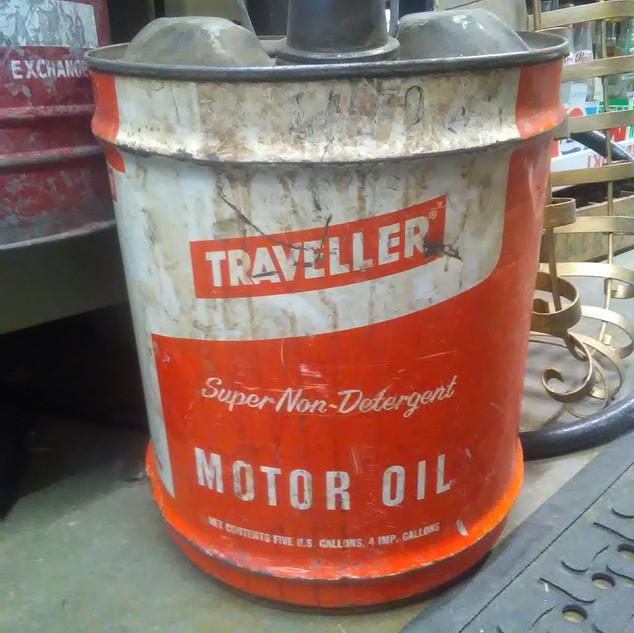Traveler Motor Oil (Orange)
