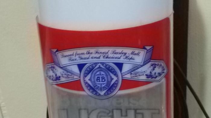 Budweiser Light Wall Sconce Light up