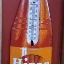 Hires Root Beer Bottle Thermometer