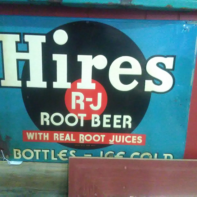 Hires Root Beer Metal Sign