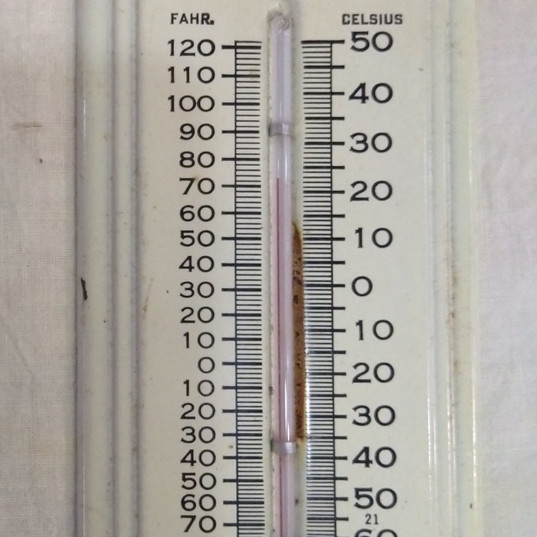 Wiebelhaus Trucking Thermometer