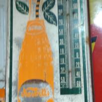 Nesbitts Orange Thermometer