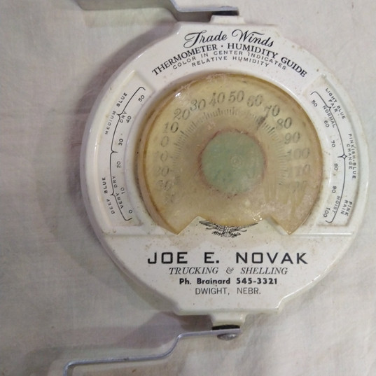 Joe E. Novak Trucking Thermometer