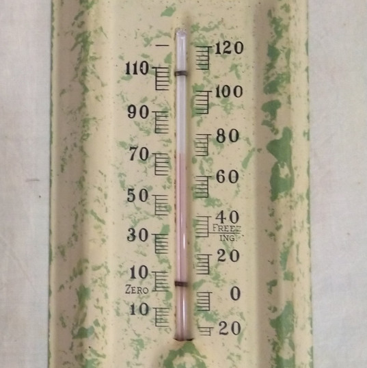 Elkhorn Valley Hatchery Thermometer