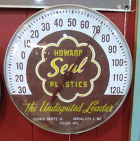 Howard SEAL Plastics Thermometer