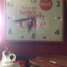 1964 Coke Sweiheart Clock