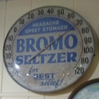 Bromo Seltzer Thermometer