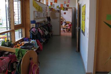 Kindergarten St.Georg Garderobe