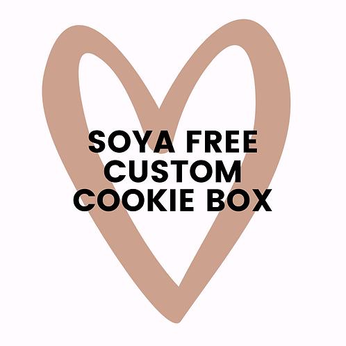 Soya Free Custom Cookie Box