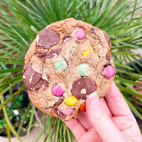 Milk Chocolate Smarties Cookies