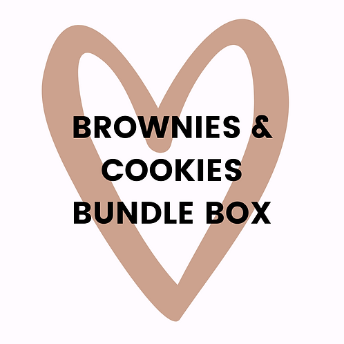 Brownies & Cookies Bundle Box