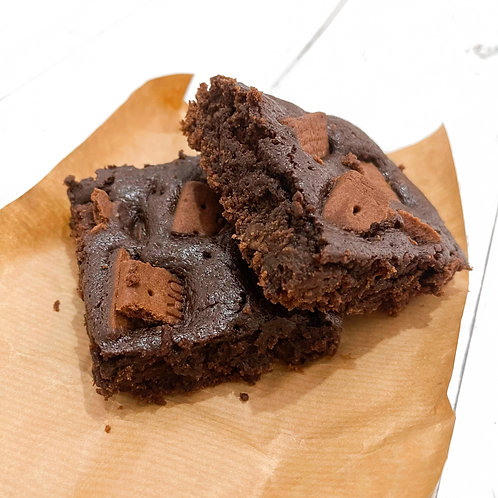Bourbon Cream Brownies