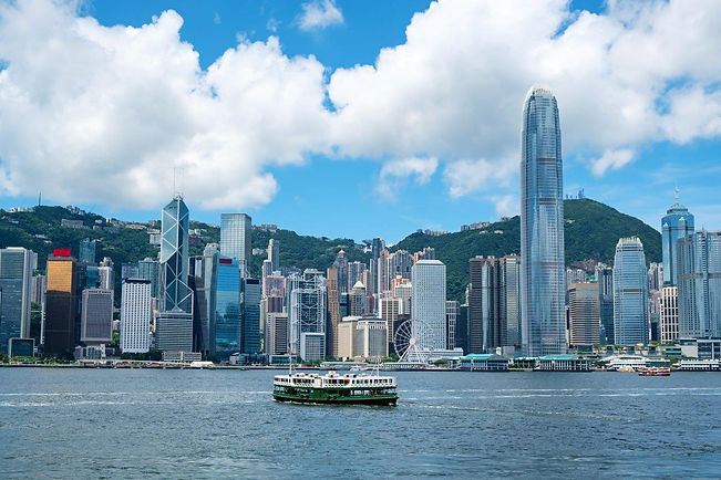 Cityscape of Hong Kong promoting global employee assistance programme