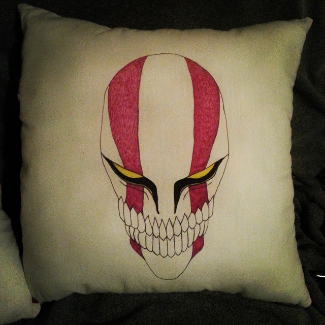 Bleach pillow