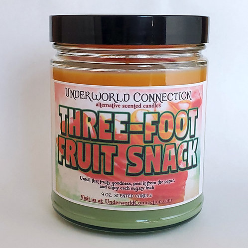THREE-FOOT FRUIT SNACK