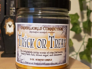 All-new Halloween Candles - 20% OFF SALE!