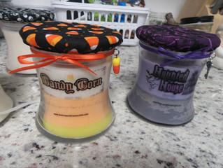 NEW CANDLES RE-LAUNCH INFO