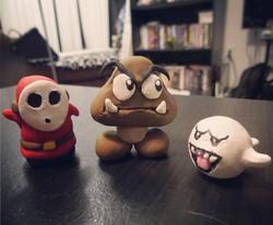 Clay Super Mario Enemies