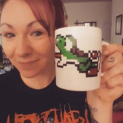Yoshi mug