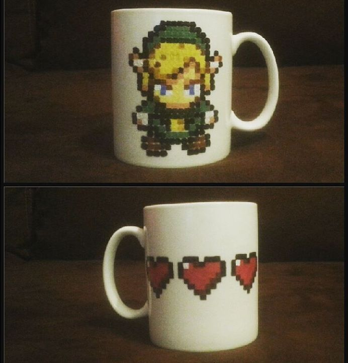 Legend of Zelda mug