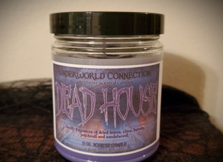 NEW Goosebumps-themed candles!
