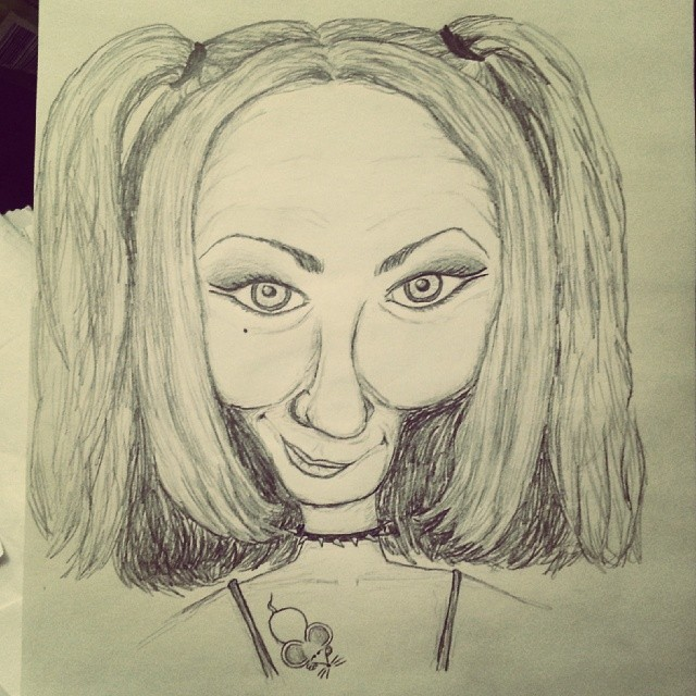 LeahMouse Caricature