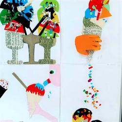 Ice Cream Collages