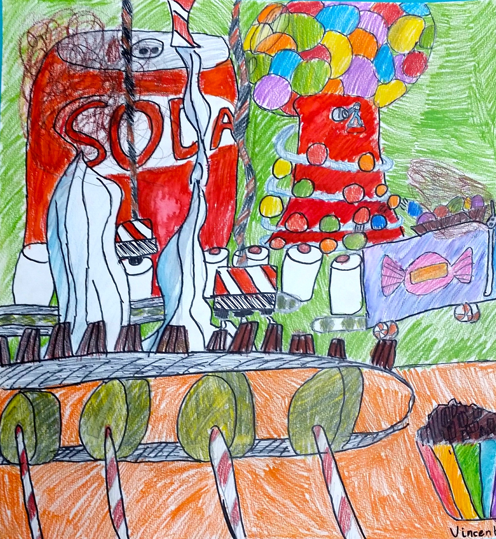 Candy Factory by student age 9-10