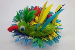 Bird and Nest Sculpture John age 9