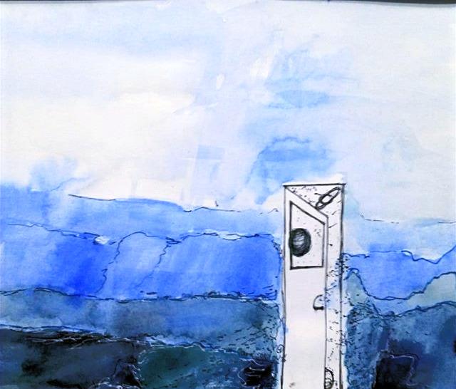 Landscape with Door