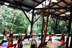 Yoga retreat at Sekeping Serendah