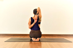 Binding the Hands in a Yoga Posture. Is it Really Necessary?