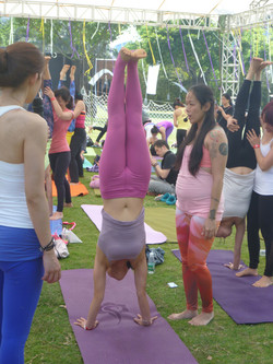 Yoga Festival in China