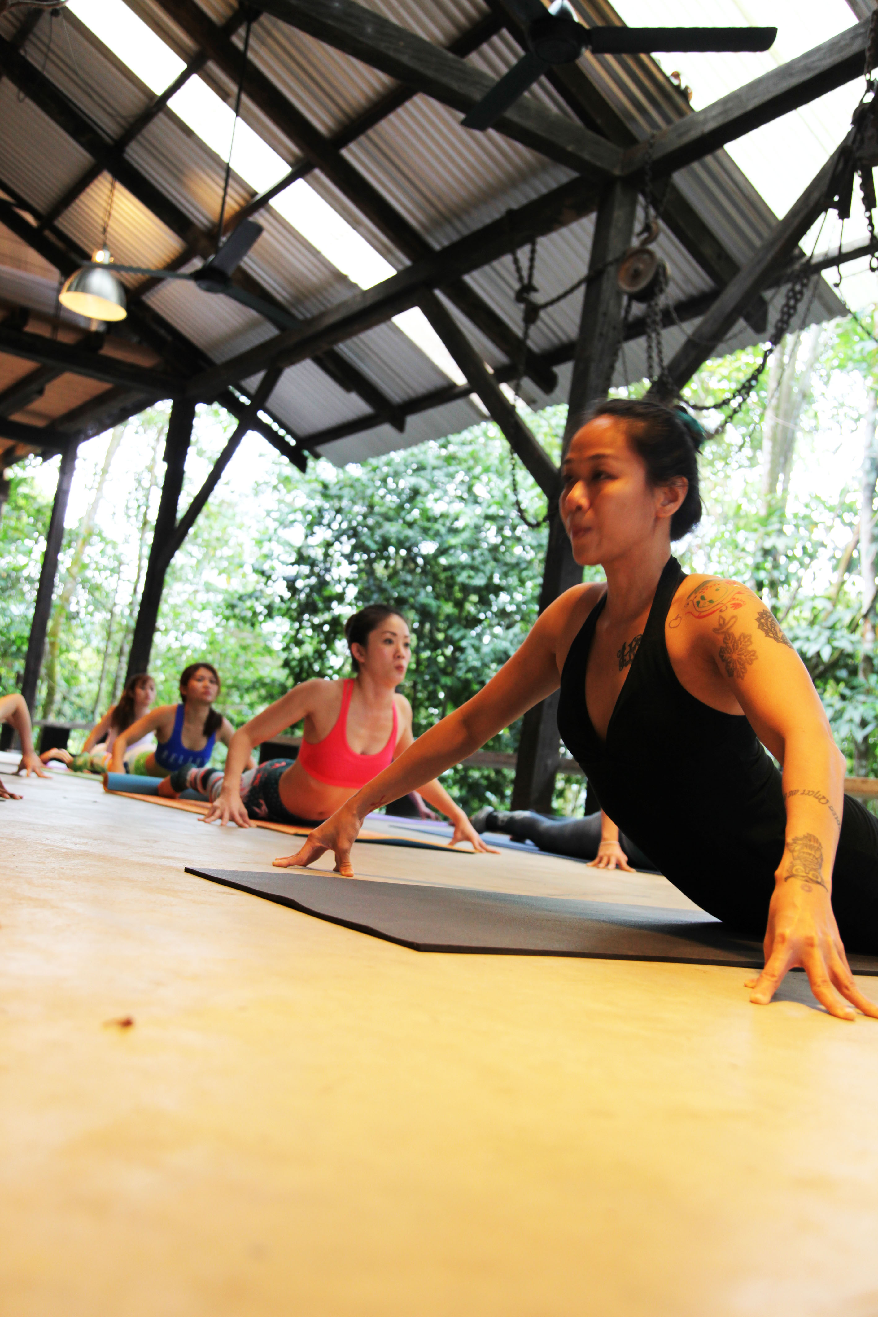 Yoga retreat at Sekeping Serendah