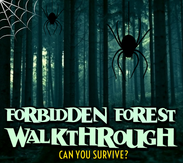 FORBIDDEN FOREST WALKTHROUGH