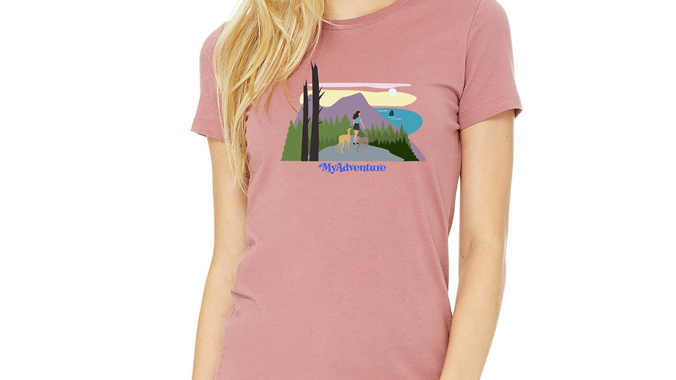 Ladies #MyAdventure Hiking - Mauve