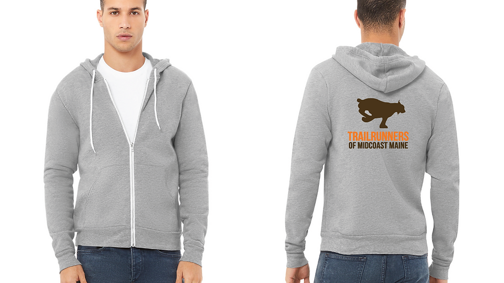 Grey Sweatshirt w/ Printed Back
