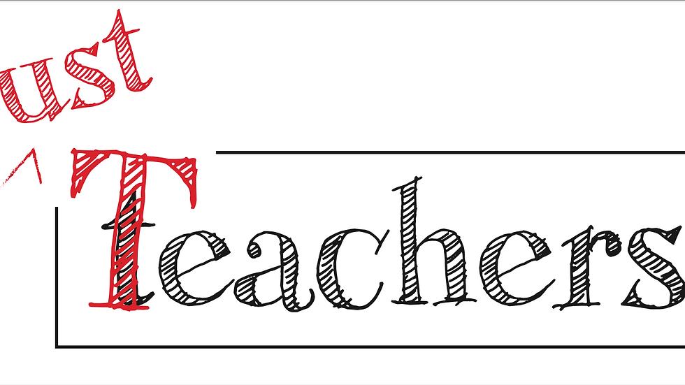 Just Teachers Bumper Sticker
