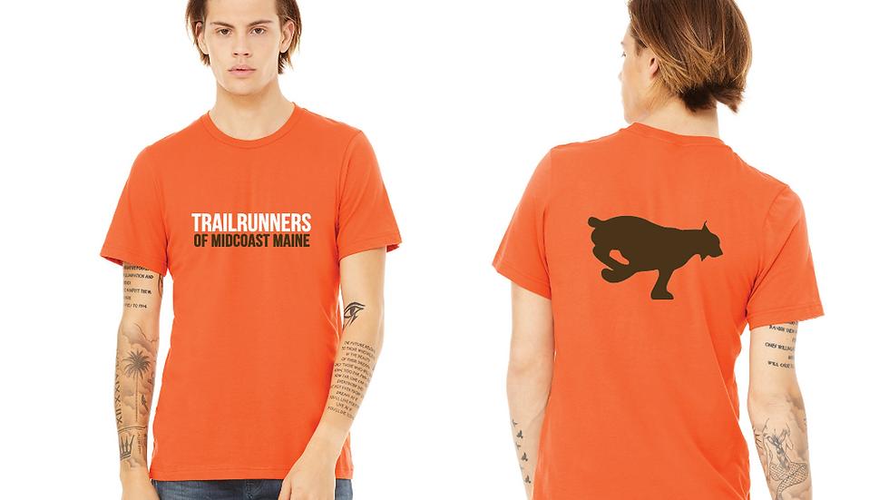 Men's Orange T-Shirt