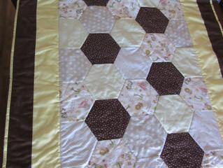 Hexagon Toddler Blanket
