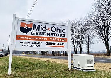 Mid Ohio Generators Sunbury Ohio