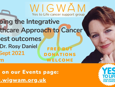 What a privilege!  One of the UK's most loved Integrative doctors joins our next Forum