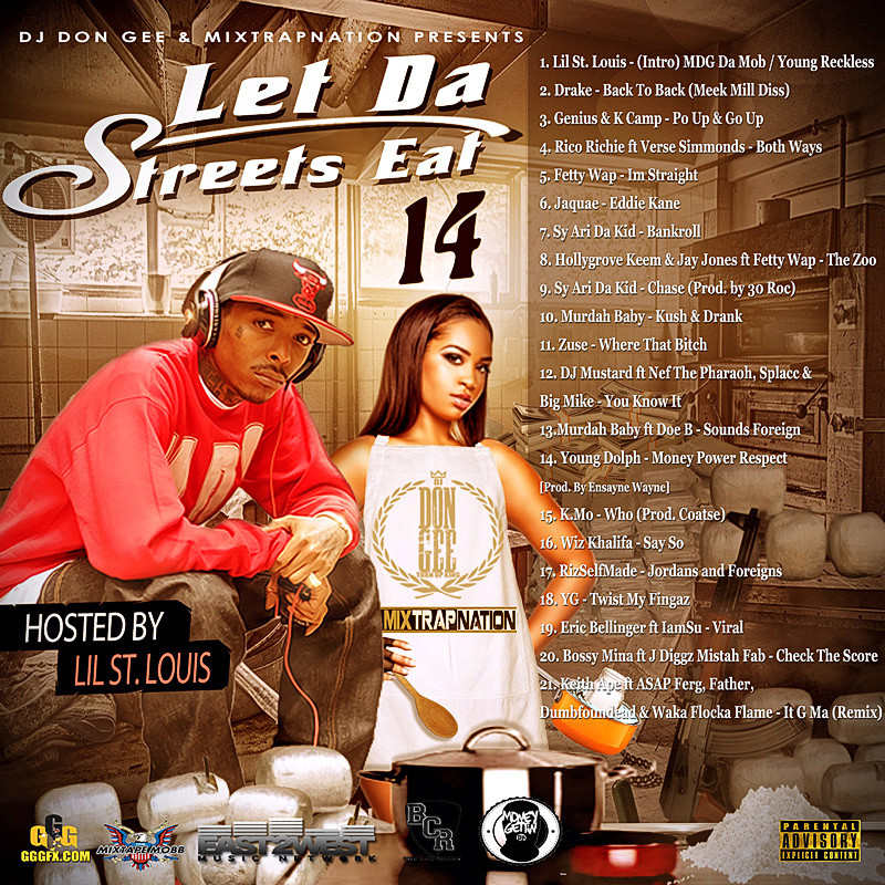 STREETS EAT VOL 14 COVER