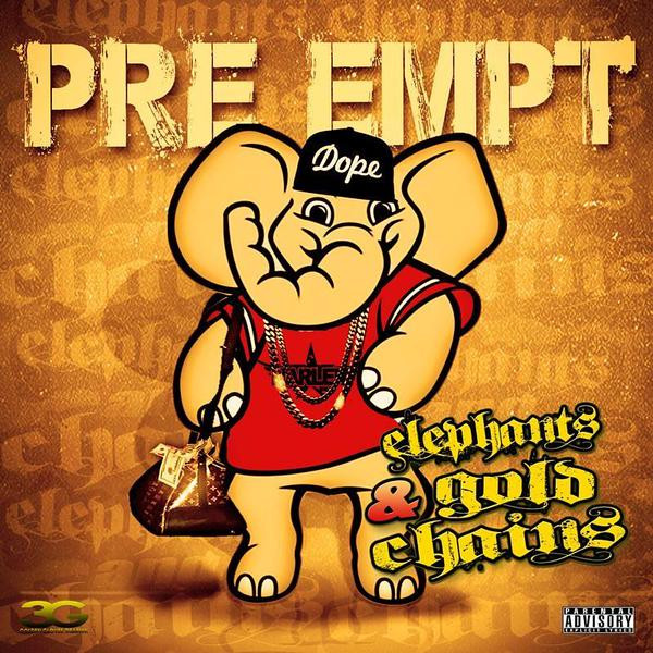 ELEPHANTS & GOLD CHAINS MIXTAPE COVER
