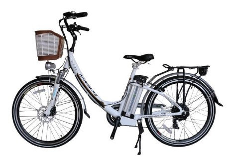 "Bicicleta Elétrica JULY BRANCA 29"""