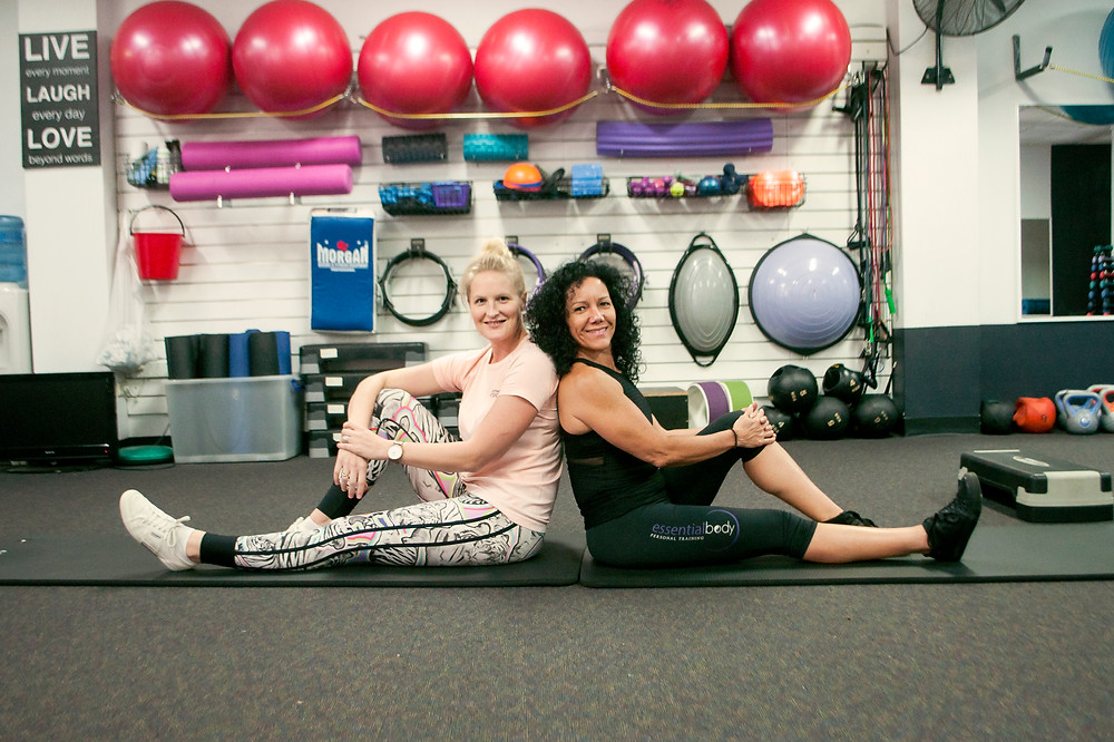 Meet the trainers: Physiotherapst Hollie O'Brien & gym owner Angela Larose